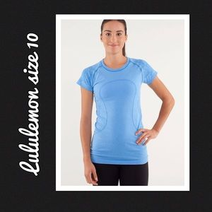 Lululemon Run: Swiftly Tech Short Sleeve *Lace